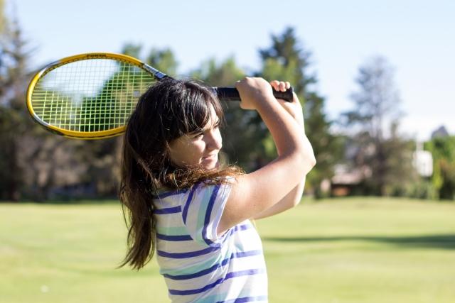 tenisu hiji te-pingu