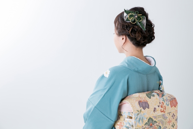 kimono kamigata bobu